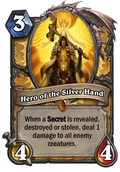 Hero of the silver hand